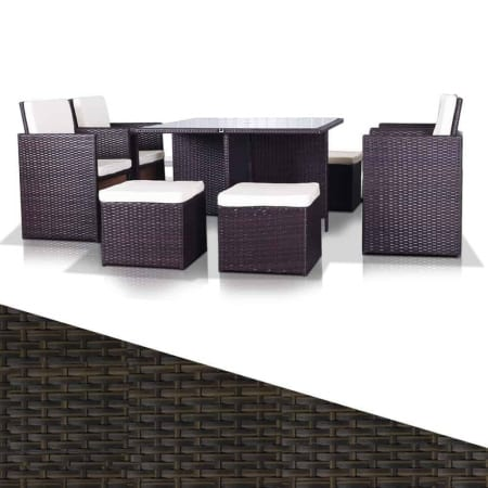 8 Seater Rio rattan furniture set