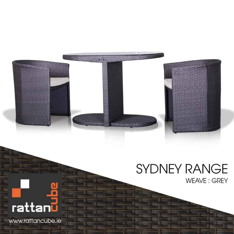 2 seater rattan furniture set