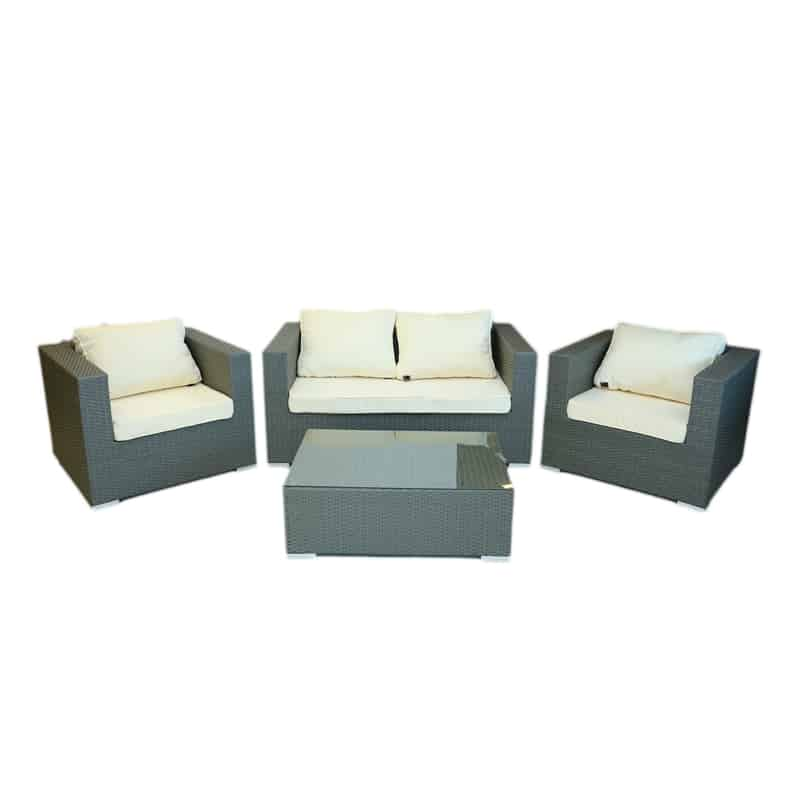 rattan cube outdoor set