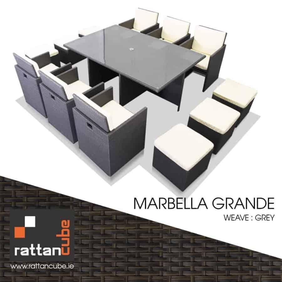 marbella rattan furniture 12 seater