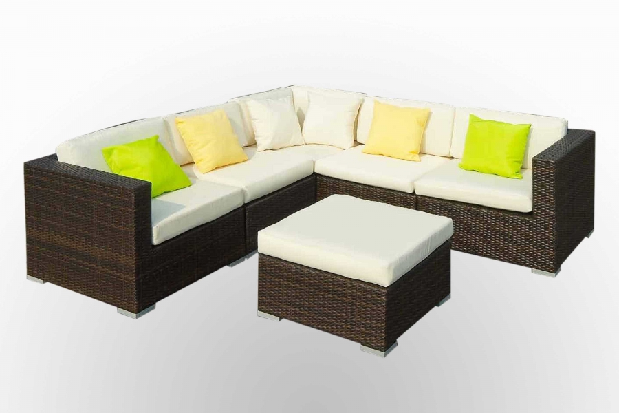Corner sofa for outside