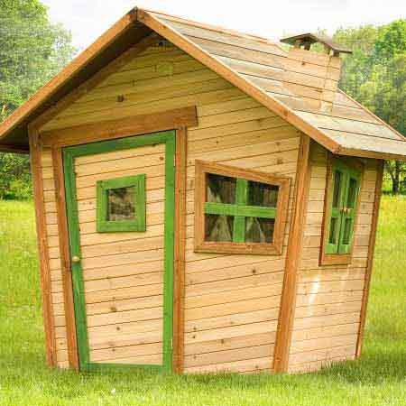 Get the Kids out of the Bedroom and into the Garden this Spring with a Rattan Cube Playhouse