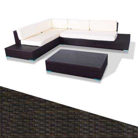 Rattan Outdoor Corner Sofa