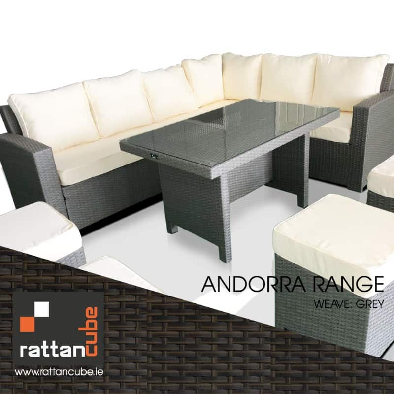 andorra weave grey rattan furniture