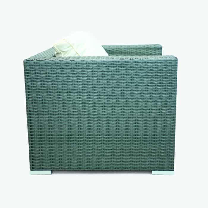 rattan cube garden chair