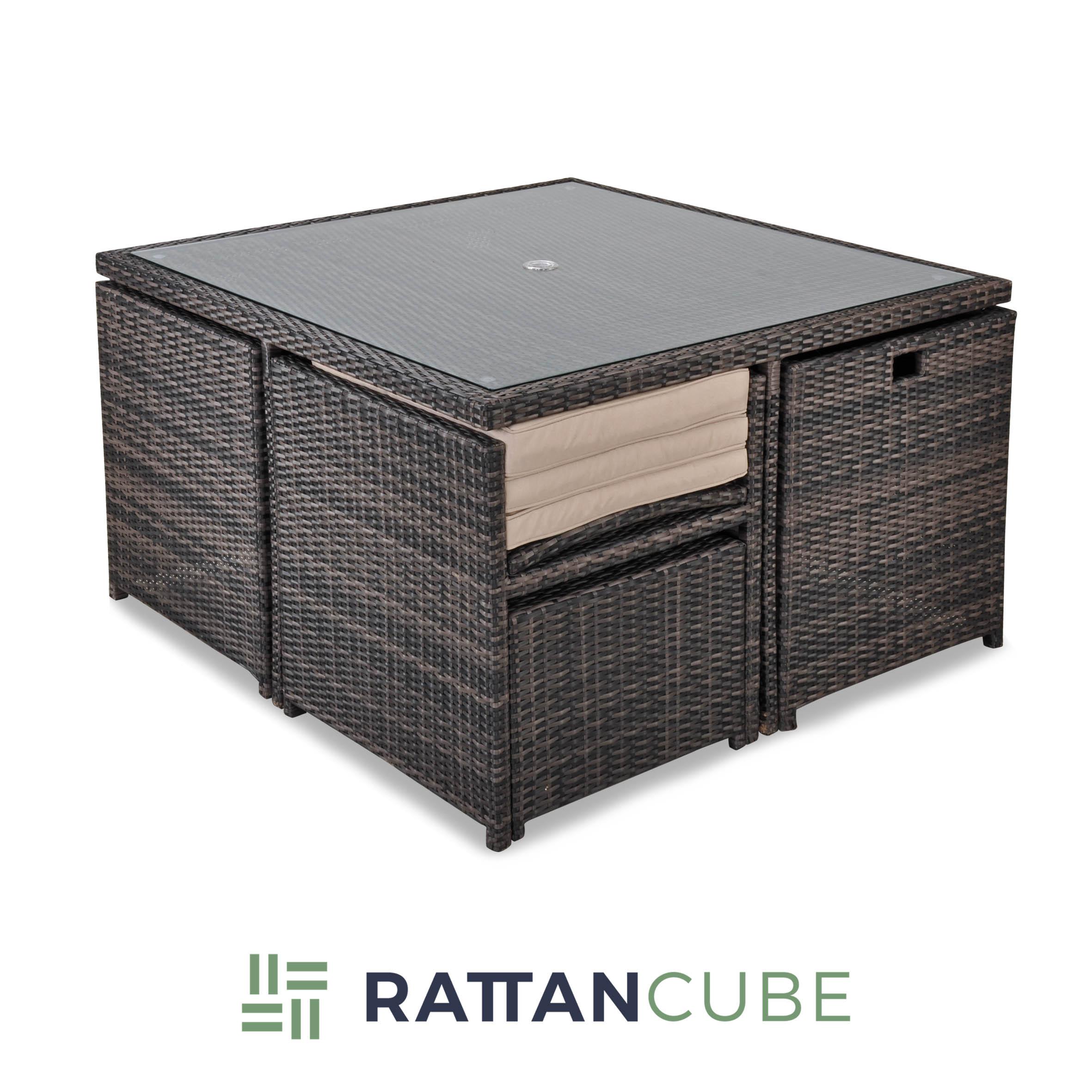 Valencia Cube - Rattan Cube