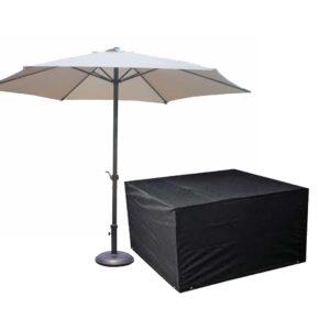 Weatherproof Cover  & Parasol