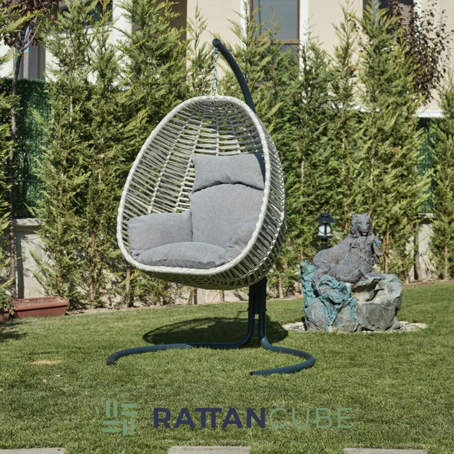 egg chair - hazelnut2