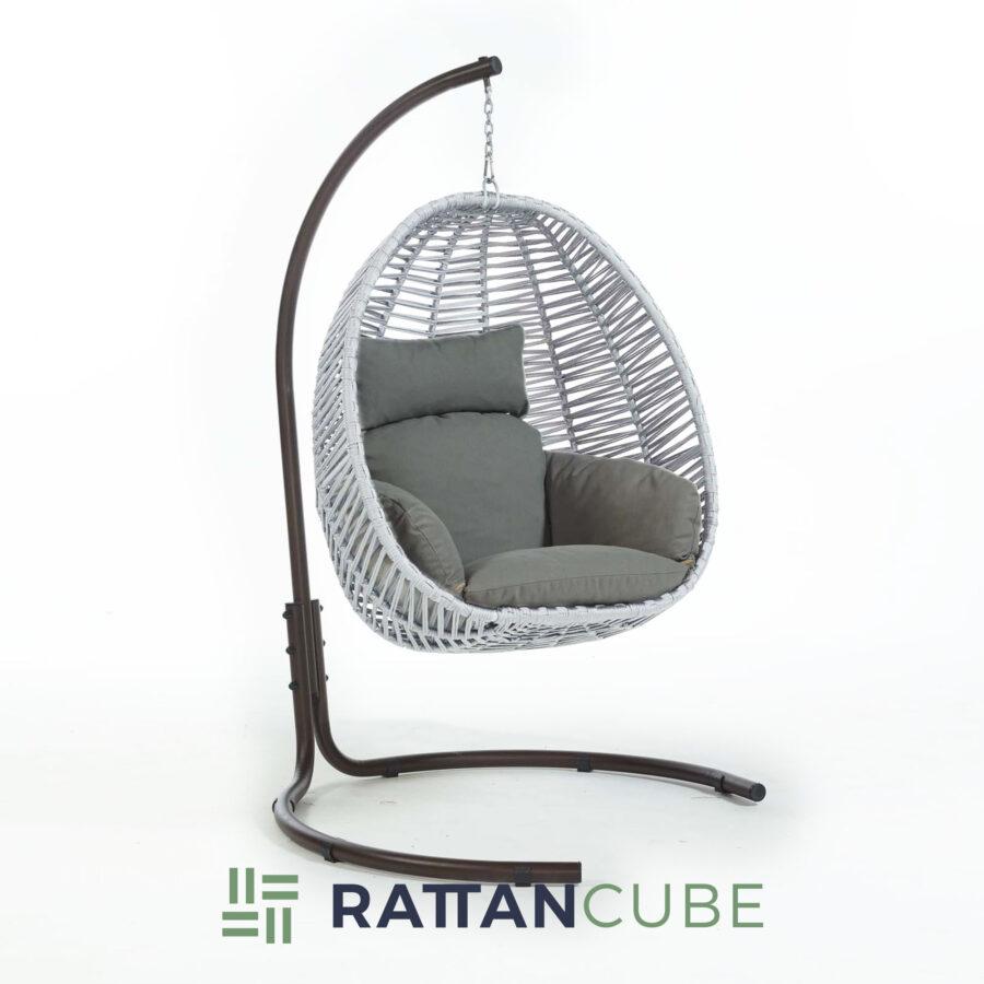 egg chair hazelnut